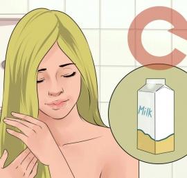 مزایای شیر برای پوست