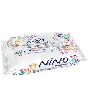دستمال مرطوب پاک کننده آرايش نينو ۳In1