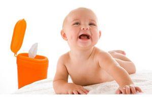 دستمال مرطوب پاک کننده کودک