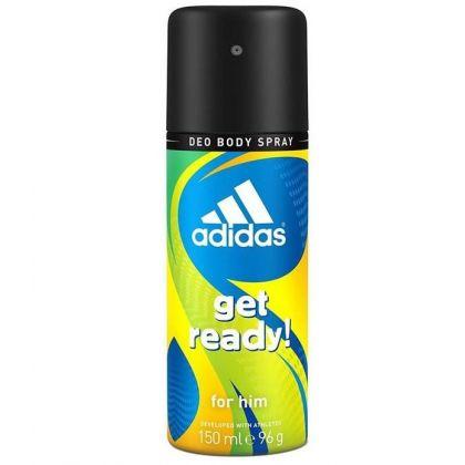 اسپری آدیداس گت ردی Adidas Get Ready Body Spray